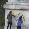 <!--:bg-->Младежи чистиха ксенофобски надписи и свастики в София<!--:-->