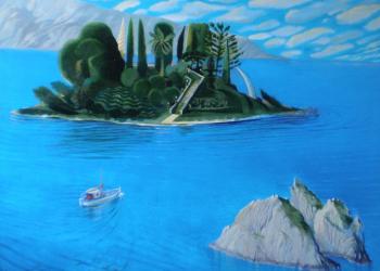 Постконцептуална изложба от ръчно направени картини на Андрей Даниел